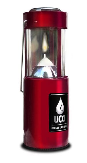 UCO Kerzenlaterne rot